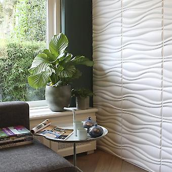 WallArt 3D Wall Panels 24 pcs. GA-WA04 Waves