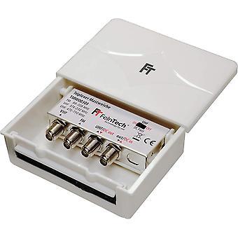 FengChun TMW00301 Triplexer 3-fach Mastweiche 3 Eingänge UKW VHF UHF Combiner