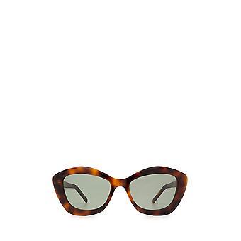 Saint Laurent SL 68 havana kvinnliga solglasögon