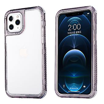 Transparent Pure Color Protective Phone Case For Iphone 12 Pro Max