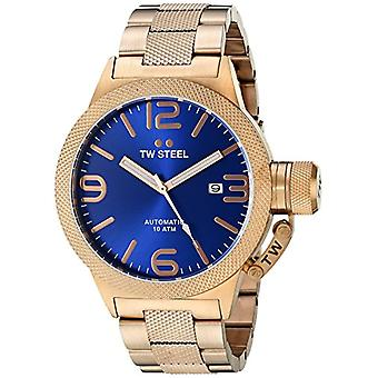TW Steel Unisex Automatic Analog Watch with Stainless Steel Strap CB185
