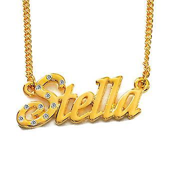 KL Stella - 18 karan kullattu kaulakoru, säädettävä ketju 16-19 cm, lahjapakkauksessa