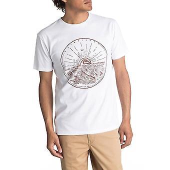 Quiksilver Mountain Sunshine Lyhythihainen T-paita valkoinen