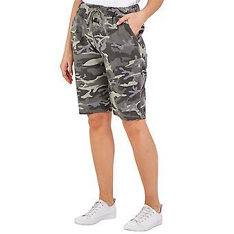 Magic Camouflage Shorts   Kaki   One Size
