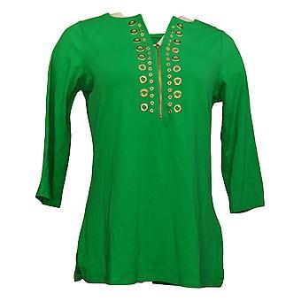 Belle af Kim Gravel Kvinders Top Reg TripleLuxe Pynte Green A301578