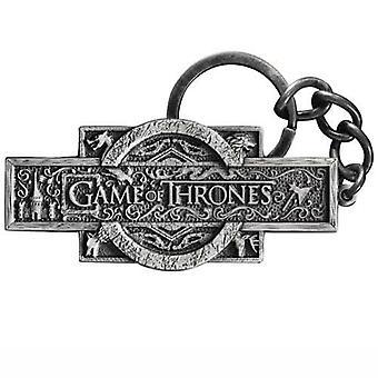 Spillet troner Logo nøkkelring fra spillet troner