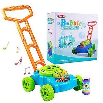 Music electronic bubble blower machine - fun bubbles blowing push toys for kids x1186