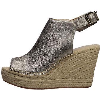 Kenneth Cole New York Womens OLIVIA lederen peep toe casual platform sandalen