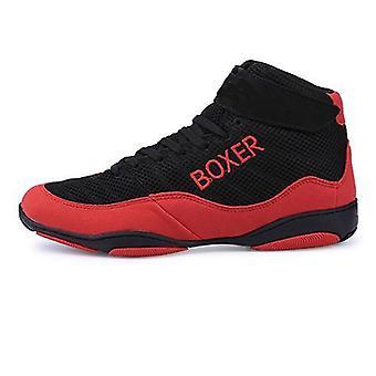 Новая боксерская обувь, мужская легкая борцовская обувь