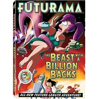 Futurama - The Beast With A Billion Backs DVD