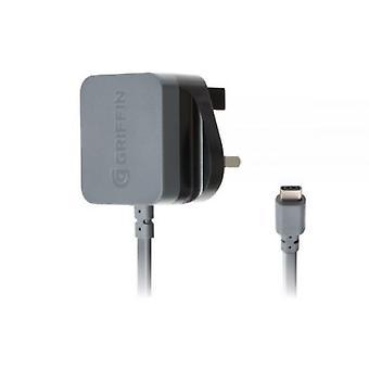 Griffin PowerBlock UK USB Typ C Reseladdare (Svart)