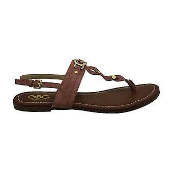 G av Gjett Womens Links åpen tå casual slingback sandaler