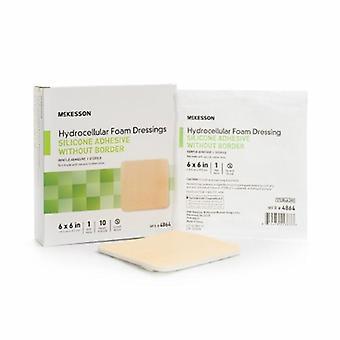 Medicazione in schiuma siliconica McKesson, Tan 1 ciascuno