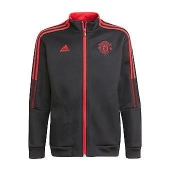 Человек Utd 2021-2022 Гимн Куртка (черный)