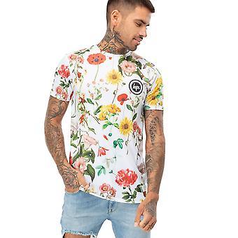 Hype Mens Regal Birds T-shirt