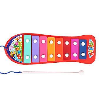 Kinder Octave Hand Knock Klavier MusikInstrument Board pädagogische Spielzeug