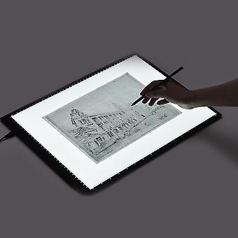 A3 Led ضوء مربع لوحة التتبع الرسم اللوحي تتبع لوحة الرسم