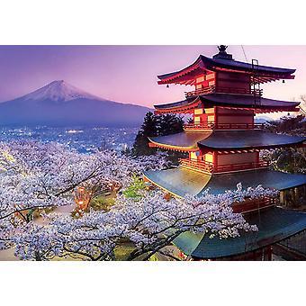 爱德华卡富士山日本拼图 (2000 件)
