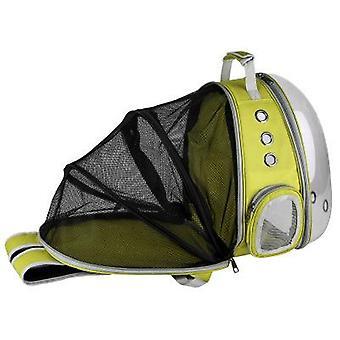 Bulle portative de porte-sac à dos pour animaux de compagnie / chat / chien / chiot, nouvelle conception de capsule spatiale sac à main de sac à dos de lapin touristique à 360 degrés