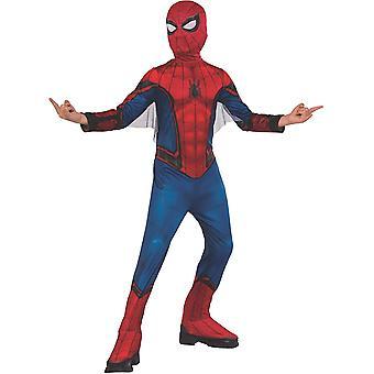 Rubies offizieller Marvel Spider-Man weit weg von zu Hause, Spiderman Childs Kostüm Blau und Rot,