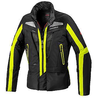 Spidi GB Voyager EVO CE Jacket Black Yellow MED D227486