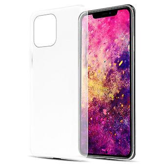 Caso para iPhone 12/12 Pro Flexível TPU Silicone Phone Case - Capa - ultra fino