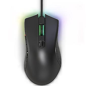Lenovo HEADSHOT Gaming Engine Game Wired Mouse (Nero)