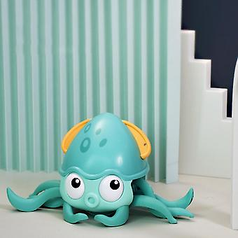 Bath toys cute octopus clockwork baby bath toys swim shower game bathroom dragging walking beach water funny