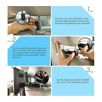 Ultra-thin Car Headrest Dvd Player 1024*600 With Osd Display&remote Control
