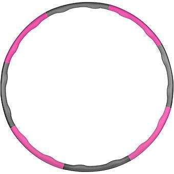 Hula Hoop mit Schaum verstellbar für Fitness