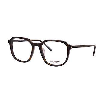 Saint Laurent SL 387 002 Havana Glasses