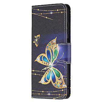 Samsung Galaxy A03s Modèle de boîtier Housse de protection magnétique Papillon
