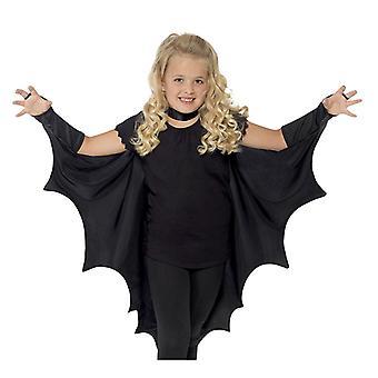 Bat Wings Costume Accessory Black Wing Set Dress Up