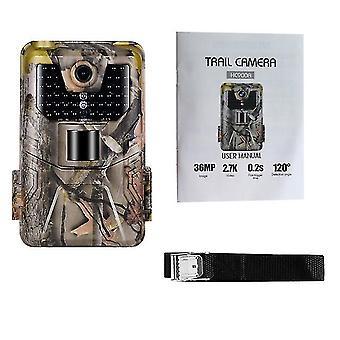 كاميرا الصيد 36mp 2.7k القرار تريل كاميرا في الهواء الطلق بير الاستشعار الأشعة تحت الحمراء كاميرا للماء 2021 Dropshipping جديدة