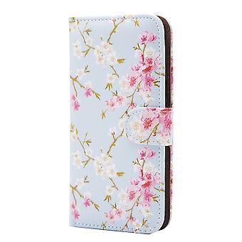 32nd Floral Design Book for Motorola Moto G5 (5.0) - Spring Blue