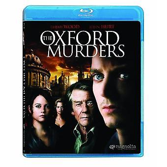 Oxford Murders [BLU-RAY] USA import