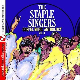 Agrafer les chanteurs - Vol. 2-Gospel Music Anthology: importation USA The Staple Singers [CD]