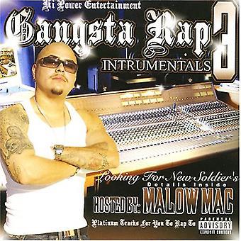Gangsta Rap Instrumentals Pt. 3 - Gangsta Rap Instrumentals Pt. 3 [CD] USA import