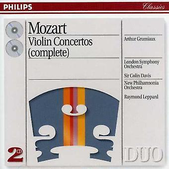 Grumiaux/Davis/London Symphony Orch - Mozart: Violinkonzerte (Complete) [CD] USA importieren