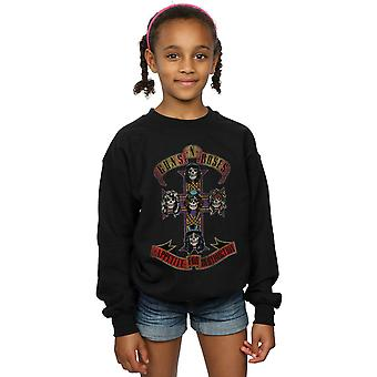 Guns N Roses piger appetit For destruktion nødlidende Sweatshirt