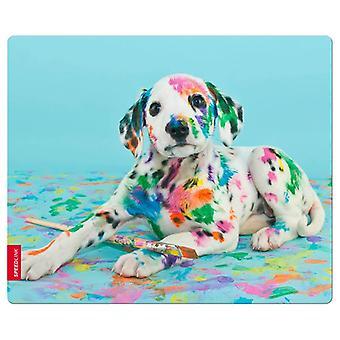 SPEEDLINK INT Art Silk Mousepad de chiot (SL-620000-PUPPY)