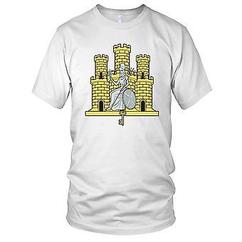 Britiske hæren 1 East angelsaksisk stil Regiment Mens T-skjorte