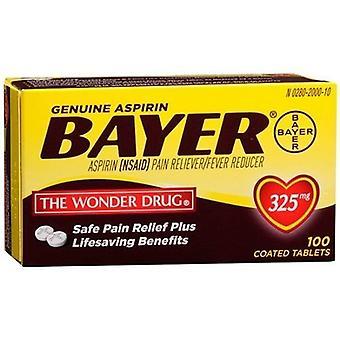 Bayer aspirina 325 mg comprimidos revestidos 100 contagem garrafa