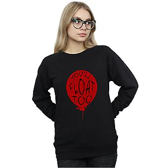 It Women's Pennywise You'll Float Too Sweatshirt