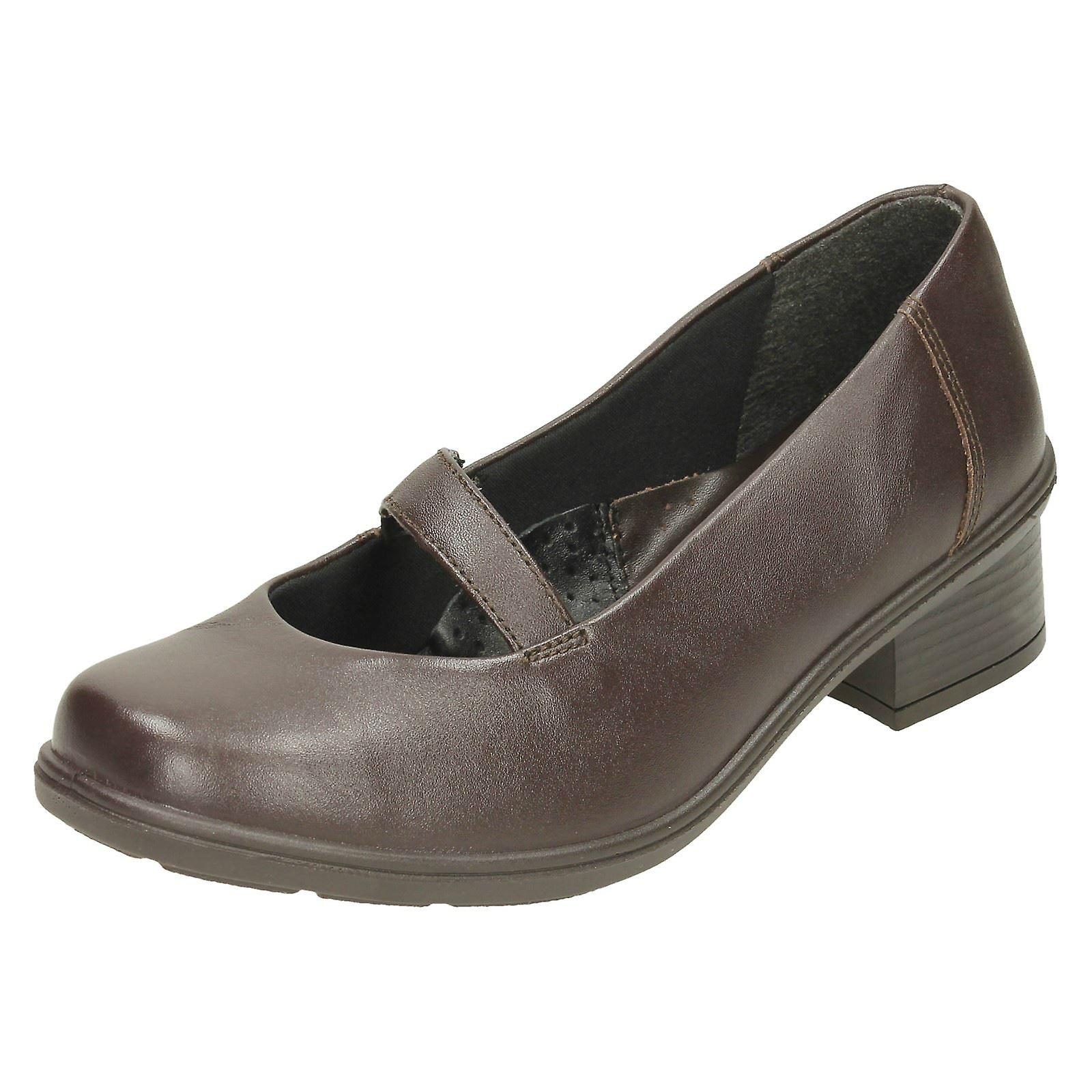 Ladies Easy B Heeled Casual Shoes Celeste JoX9q