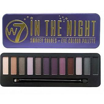 W7 w nocy EyeShadow Palette