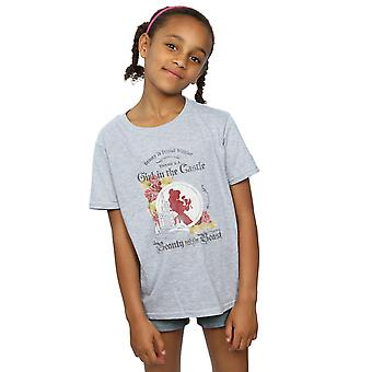 Disney Girls Beauty And The Beast Girl in The Castle T-Shirt