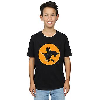 Star Wars Boys Boba Fett Broomstick T-Shirt