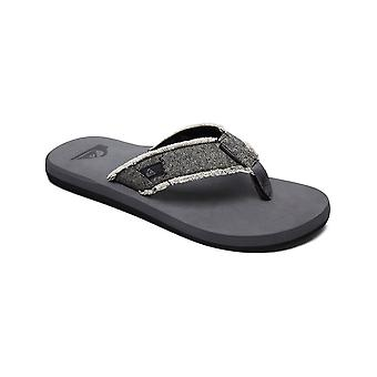 Quiksilver Monkey Abyss Canvas Sandalen in grau