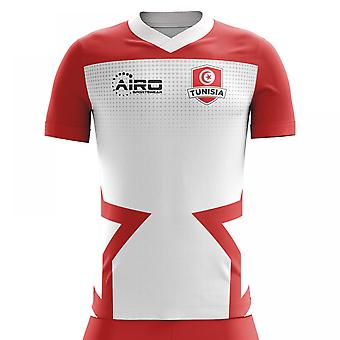 2020-2021 Tunesien Home Concept Fodbold shirt (Kids)